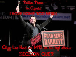 Bad News Barrett Meme - phillies memes bad news barrett has some news for phillies phans