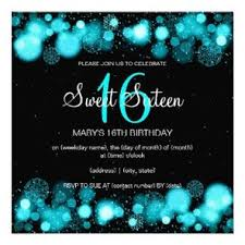 winter sweet sixteen birthday party invitations party