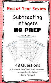 Add Subtract Integers Worksheet Best 25 Subtraction Of Integers Ideas Only On Pinterest Adding