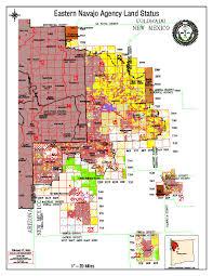Standing Rock Reservation Map Maps Navajo Land Department