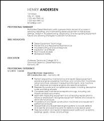 Auto Mechanic Resume Sample by Download Mechanic Resume Haadyaooverbayresort Com
