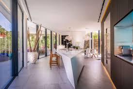 Triangular Kitchen Island Modern Mediterranean Villa Of Exciting Design Details