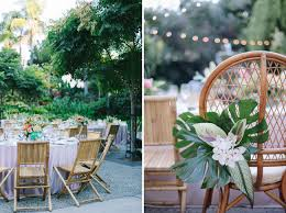 Chair Rentals Downtown Los Angeles A Tropical Glam Wedding In Los Angeles Green Wedding Shoes