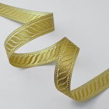 ribbon trim metallic jacquard ribbon trim by yard smb 1002a
