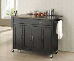 kitchen cart and island island in black facelift solid granite top kitchen cart island