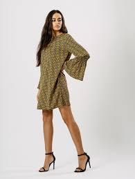 floral print bell sleeve summer casual wear dresses u2013 designers