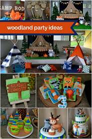 cing birthday party woodland party decorating ideas home design 2017