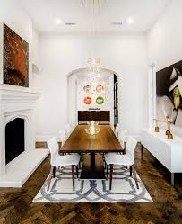 Rustic Modern Dining Room Rustic Modern Dining Room Farmhouse With Chandelier L Listed
