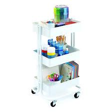 white austin 3 tier metal cart 3 tier cart with wheels ikea 3 tier