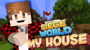 siege minecraft minecraft building my house siege s2e1 clash of clans