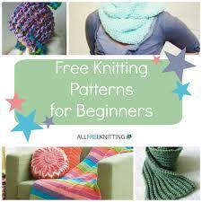 knitting for beginners 54 easy knitting patterns
