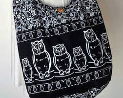 Owl Shoulder - owl messenger bag etsy