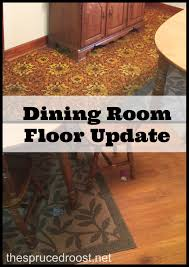 carpeted dining room dining room floor update the spruced roost