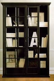 glass doors bookcase foter