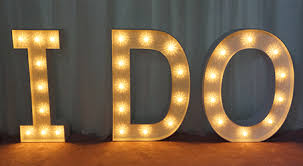 marquee numbers with lights 1 marquee letter rentals toronto wedding marquee letters