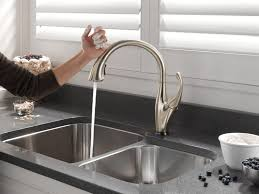 faucet touchless kitchen faucet beautiful sink faucet beautiful touchless kitchen faucet which brand is
