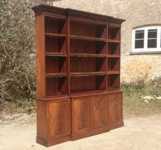 breakfront bookcases hares antiques