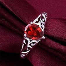large ladies rings images 2018 luxury red crystal garnet lady rings brand fashion design jpg