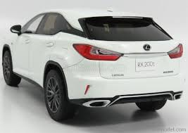 lexus suv 2003 kyosho ksr18014w scale 1 18 lexus rx200t f sport 2003 white met