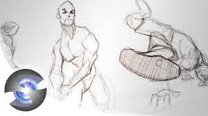figure drawing demo male youtube