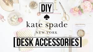 Desk Accessories by Diy Kate Spade Inspired Desk Accessories Dana Jean Youtube