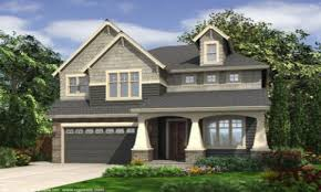 100 craftsman style house plans for narrow lots plan of the