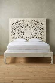 distressed carved wood king bed frame search intérieur