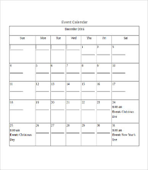 printable calendar template 10 free word pdf documents