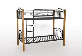 SCF Aussie MetalTimber Single Bunk Bed Sydney Central Furniture - Timber bunk bed