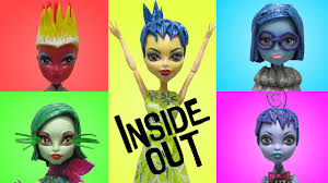 Inside Out Costumes Play Doh Monster High
