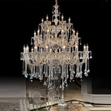 Crystal Glass Chandelier Lighting Impex Barcelona 7 Light Crystal Glass Chrome Chandelier