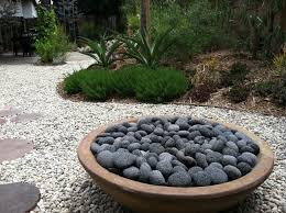 Firepit Rocks Pit Modern Patio Los Angeles By Stout Design Build