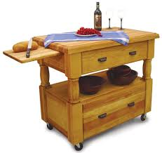 buy solid maple kitchen work table island