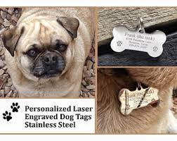 Engravable Dog Tags Dog Tags For Dogs Etsy