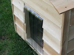 House Doors Cedar Dog House Kit Extra Large 16185