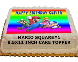 mario cake mario cake topper etsy