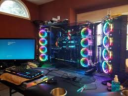 Gaming Setups Pc Gaming Setups That Instill Jealousy 27 Photos Thechive
