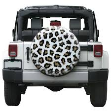 white and pink jeep leopard pattern jeep tire cover white or pink jeep world