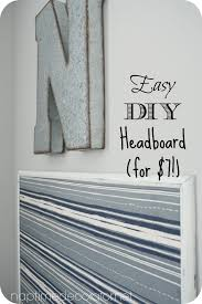 easy diy headboard an easy diy headboard for 7