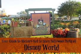 your guide to mickey u0027s not so scary halloween party at disney world