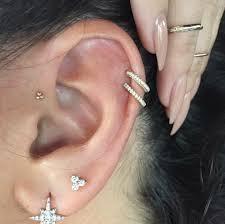 diamond helix stud jewels piercing piercing fancy goldd diamonds helix