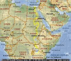 nile river on map nile river map images nile river and