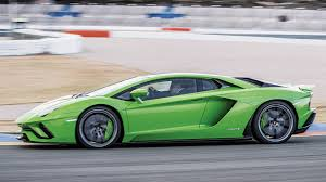 the lamborghini car the lamborghini aventador s shows its speed and agility on a