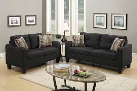 home theater loveseat black fabric sofa and loveseat set steal a sofa furniture outlet