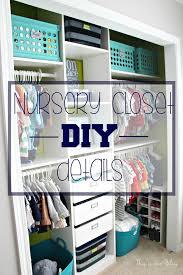 nursery closet makeover details how to diy a closet this is