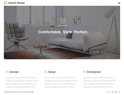 Themes For Interior Design Of Residence 13 Best Interior Design Wordpress Themes 2017