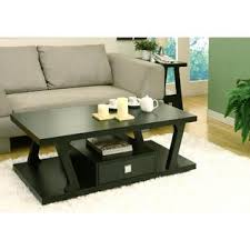 Black Living Room Table Sets Furniture Of America Gigi Black Coffee Table With Drawer