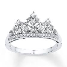 crown rings images Crown ring 1 5 ct tw diamonds sterling silver 2355730199 kay jpg