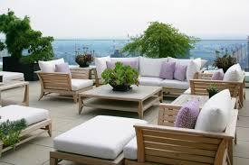 Teak Patio Furniture Duane Kaschak Id Contemporary Deck New York By Duane