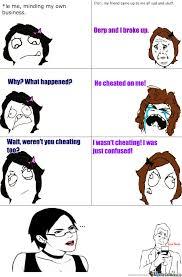 Female Logic Meme - female logic by honeydr meme center
